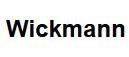 Wickmann