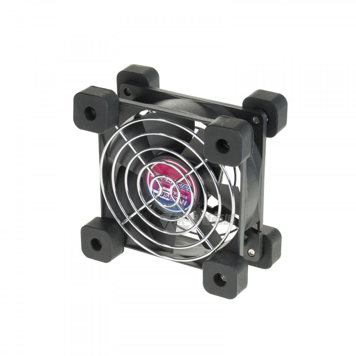 EVERCOOL UFAN 08 5VDC 80x80x25mm EL bearing