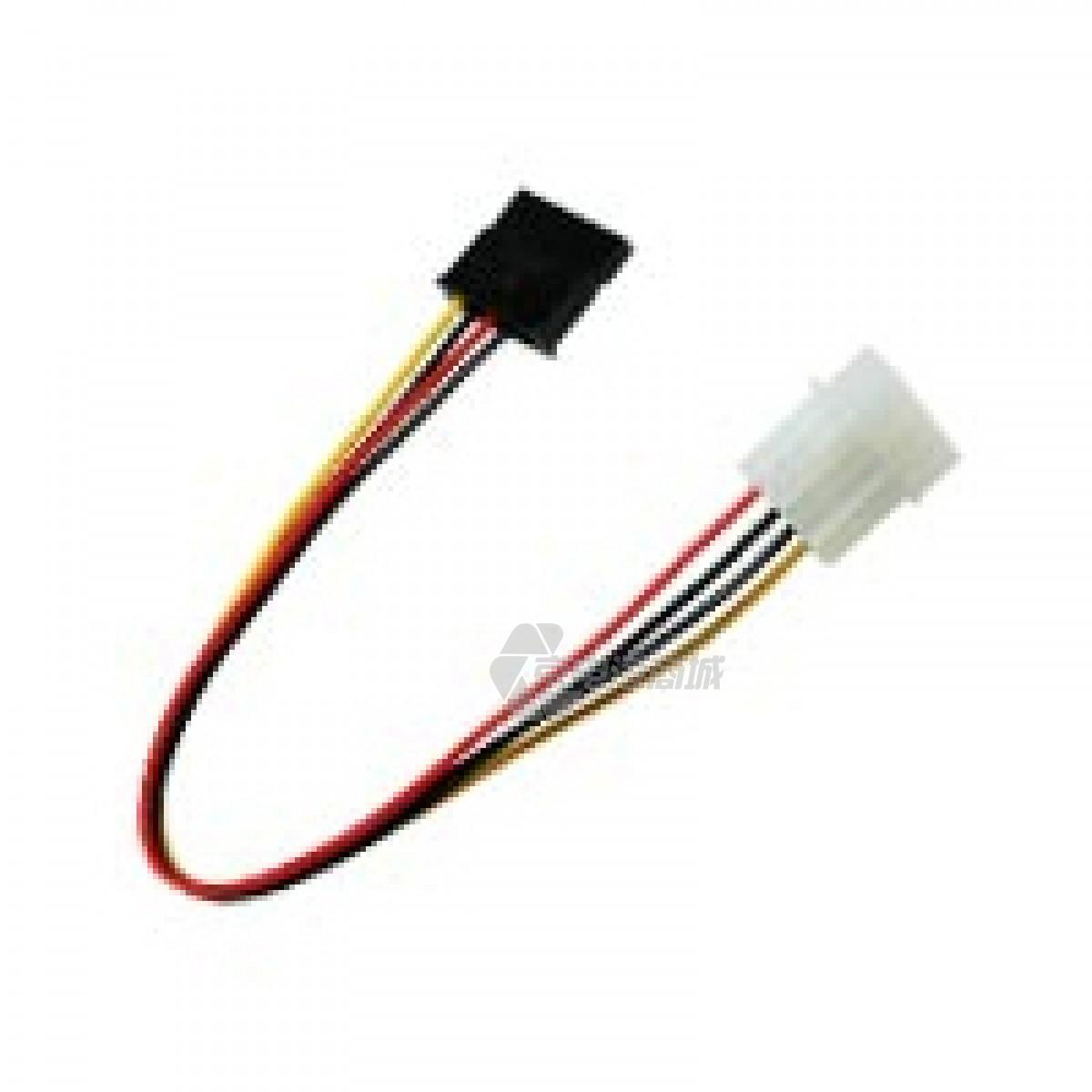 CABLES EC ST002 Converts 4pin PSU Molex to SATA power