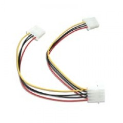 CABLES EC DF008 4pin Molex power splitter