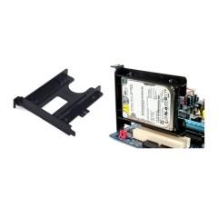 "EVERCOOL 130x121x22mm SINGLE BAY 2.5"" HARD DRIVE BRACKET FOR PCI SLOT"