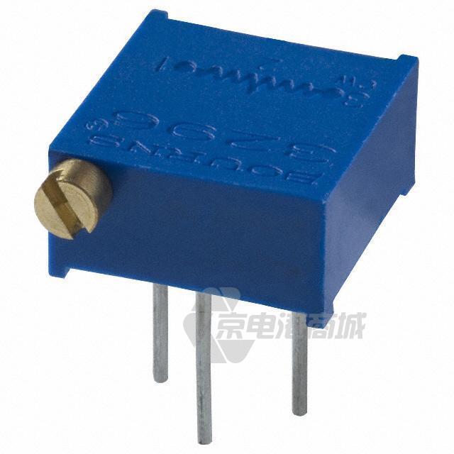 Bourns 微调电位计 可变电阻器 TRIMMER 2K OHM 0.5W PC PIN