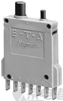 ETA 3600 系列 16A 1 极 热磁断路器 3600-P10-Si-16A, 65 V dc, 250 V ac