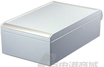 ROLEC AluCASE 系列 灰色 压铸铝制 工程盒 191.172.111, 280 x 170 x 90mm