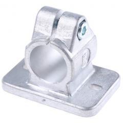 Rose Krieger 压铸铝 FK 法兰夹具 12300000020, 适合30.1mm管径 圆管, M8螺纹