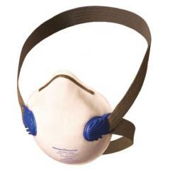 Kimberly Clark 64260 白色 模制 FFP1 带阀 一次性口罩, 鼻夹可调节