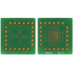 Roth Elektronik RE935-06E 双面 扩展板适配器, 多适配器,带适配电路板, 21.59 x 20.32 x 1.5mm