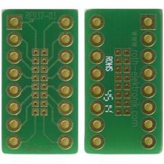 Roth Elektronik RE937-03 双面 扩展板适配器, 多适配器,带适配电路板, 21.59 x 11.43 x 1.5mm