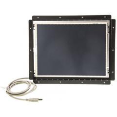 Hero 12.1in LCD 开放式 开放式机架显示器 HE121SAOT5, 800 x 600像素, SVGA图形 触幕屏