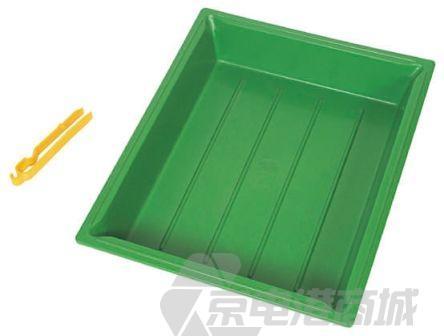 CIF AR236 PVC 蚀刻托盘, 颜色包括绿色, 400mm长 x 300mm宽