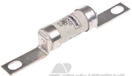 Cooper Bussmann 10A电流 A2尺寸 gG 英国标准熔断器 AAO10, BS 88, IEC 269标准, 13.7mm直径, 85mm总长, 550V ac