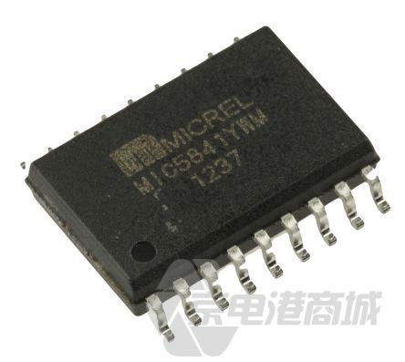 Microchip 8位 串行至串行/并行 驱动器、移位寄存器 MIC5841YWM, 单向, 18引脚 SOIC W封装