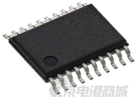 Texas Instruments 8位 串行至并行 SN74LV8153PW, 3 - 13.2 V电源, 20引脚 TSSOP封装