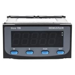 Hengstler Tico 735 系列 LED PID 温度控制器 0735A20000, 测量电流、电压