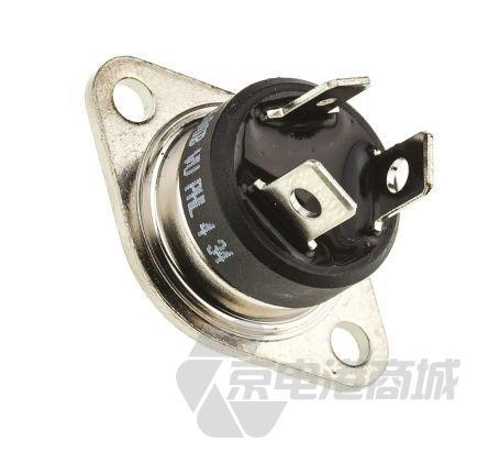 STMicroelectronics BTA40-600B 三端双向可控硅开关元件, 40A额定, 600V峰值, 100mA 1.3V触发, 3引脚