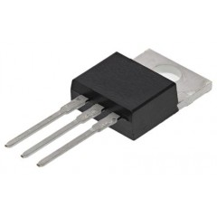 STMicroelectronics BTA08-800CRG 三端双向可控硅开关元件, 8A额定, 800V峰值, 50mA 1.3V触发, 3引脚