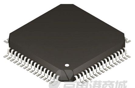 Microchip DSPIC30F6012-30I/PF 16bit DSP(数字信号处理器), 30MHz, 144 kB ROM 闪存, 8.192 kB RAM, 80引脚