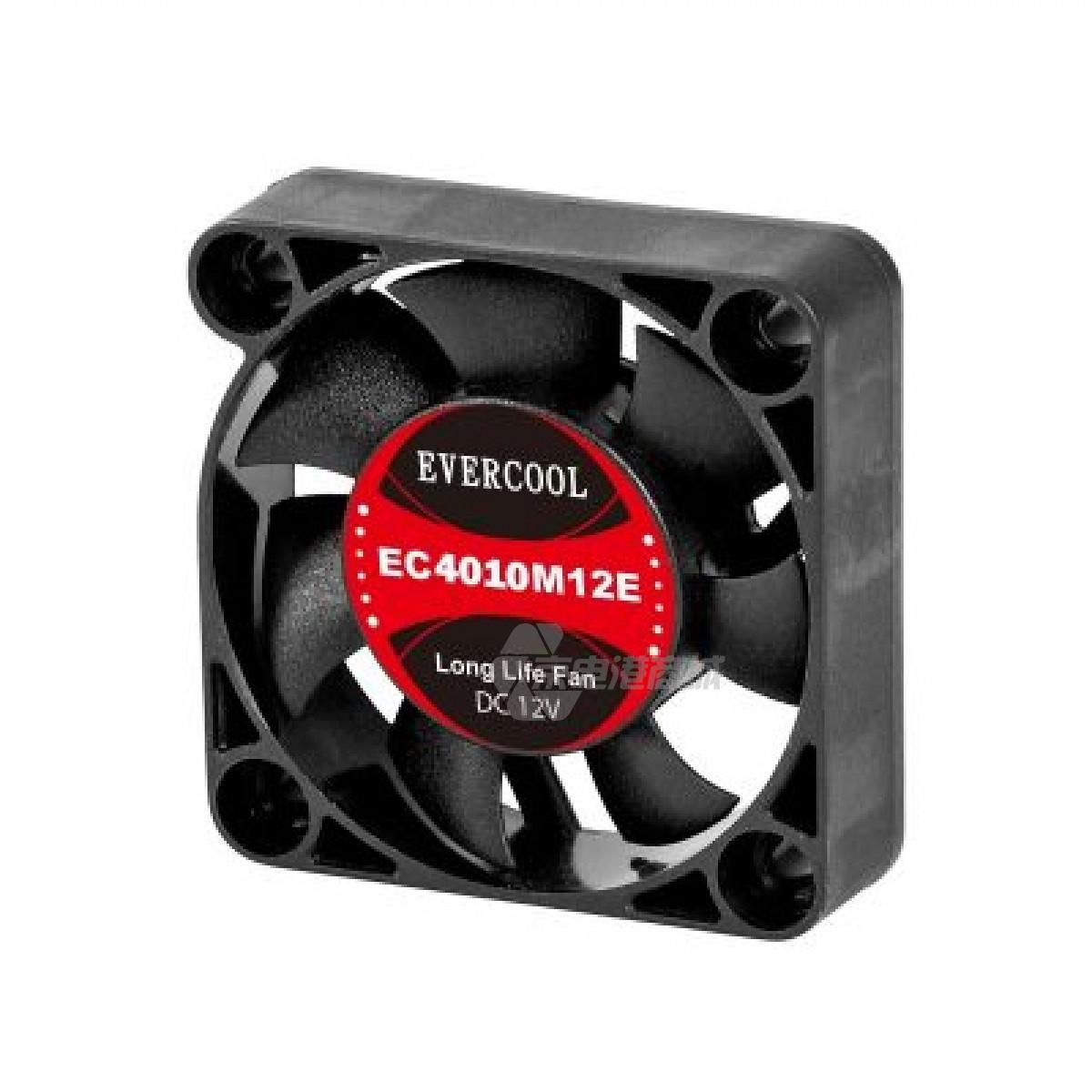 EVERCOOL EC4010M12E 12VDC 40x40x10mm 4010 SERIES