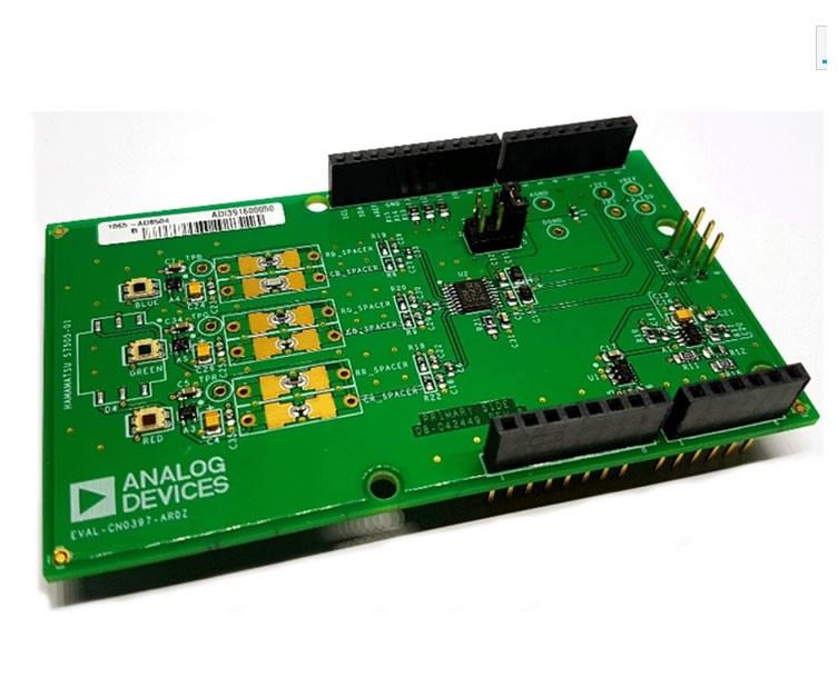 Analog Devices Inc.  光学传感器开发工具  EVAL-CN0397-ARDZ  Smart Visible Light Recog and Detection