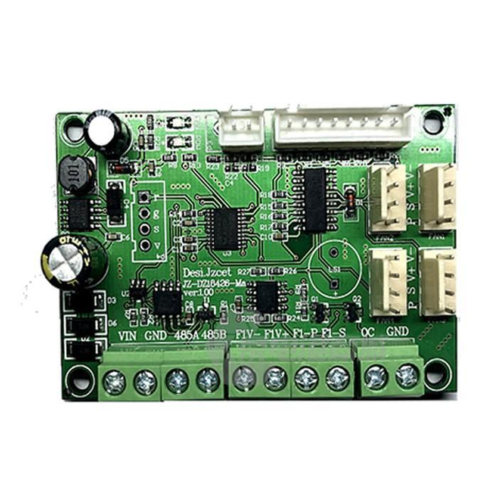 Cofan JUF-4846  RS485串口指令支持四路 支持12V/24V/48V/ PWM输出占空比0-100%可调 直流风机调速器